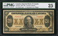 Canadian Currency: , Toronto, ON- Imperial Bank of Canada $20 Nov. 1, 1923 Ch.375-18-10.. ...