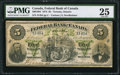 Canadian Currency: , Toronto, ON- Federal Bank of Canada $5 July 1, 1874 Ch. #300-10-04.. ...