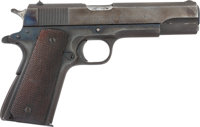 [Mickey Spillane]. Colt Government Model Semi-Automatic Pistol