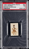 Boxing Cards:General, 1948 Topps Magic Photo Jack Dempsey #8A PSA NM 7....