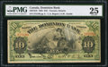 Canadian Currency: , Toronto, ON- Dominion Bank $10 Jan. 2, 1925 Ch. # 220-18-10.. ...