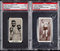 Boxing Cards:General, 1938 Cartledge & Churchman Jack Dempsey PSA Graded Pair (2)....