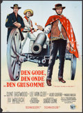 "Movie Posters:Western, The Good, the Bad and the Ugly (United Artists, 1968). Danish Poster (24.25"" X 33.5""). Western.. ..."