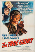 "Movie Posters:War, The True Glory (Columbia, 1945). One Sheet (27"" X 41""). War.. ..."