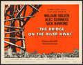 "Movie Posters:War, The Bridge on the River Kwai (Columbia, 1958). Title Lobby Card(11"" X 14""). War.. ..."