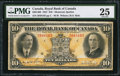 Canadian Currency: , Montreal, PQ- The Royal Bank of Canada $10 Jan. 2, 1927 Ch. #630-14-08.. ...