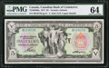 Canadian Currency: , Toronto, ON- Canadian Bank of Commerce $5 Jan. 2, 1917 Ch. #75-16-04-06a.. ...