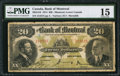Canadian Currency: , Montreal, LC- Bank of Montreal $20 Nov. 3, 1914 Ch. # 505-54-10.. ...
