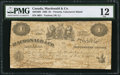 Canadian Currency: , Victoria, VI- Macdonald & Co. $1 Sept. 6, 1863 Ch. # 420-10-02....