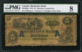 Canadian Currency: , Montreal, CE- The Mechanics Bank $5 June 1, 1872 Ch. # 430-10-08a.....