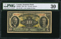 Canadian Currency: , Toronto, ON- The Dominion Bank $10 Jan. 3, 1938 Ch. # 220-28-04....