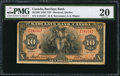 Canadian Currency: , Montreal, PQ- Barclays Bank (Canada) $10 Jan. 2, 1935 Ch. #30-12-08.. ...