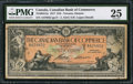 Canadian Currency: , Toronto, ON- Canadian Bank of Commerce $10 Jan. 2, 1917 Ch. #75-16-04-12a. ...