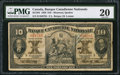 Canadian Currency: , Montreal, PQ- Banque Canadienne Nationale $10 Feb. 1, 1929 Ch. #85-12-04.. ...