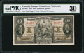 Canadian Currency: , Montreal, PQ- Banque Canadienne Nationale $10 Jan. 2, 1935 Ch. #85-14-04.. ...