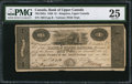 Canadian Currency: , Kingston, UC- Bank of Upper Canada $1 Jan. 1, 1820 Ch. 765-12-02a.. ...