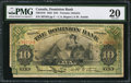 Canadian Currency: , Toronto, ON- The Dominion Bank $10 Jan. 2, 1925 Ch. # 220-18-10. ...