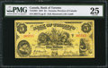 Canadian Currency: , Toronto, ON- Bank of Toronto $5 Jan. 2, 1937 Ch. # 715-24-04.. ...