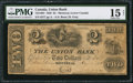 Canadian Currency: , Montreal, LC- Union Bank $2 Aug. 1, 1838 Ch. # 725-16-04.. ...