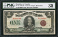Canadian Currency: , DC-25i $1 1923.. ...