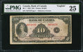 Canadian Currency: , BC-7 $10 1935.. ...
