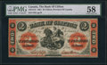 Canadian Currency: , Clifton, PC- Bank of Clifton $2 Sept. 1, 1861 Ch. # 125-12-12.. ...