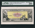 Canadian Currency: , Toronto, ON- Canadian Bank of Commerce $20 Jan. 2, 1917 Ch. #75-16-02-08P Proof.. ...