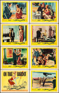 """Movie Posters:Foreign, La Parisienne (United Artists, 1958). Lobby Card Set of 8 (11"""" X 14""""). Foreign.. ... (Total: 8 Items)"""