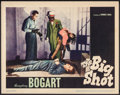 "Movie Posters:Crime, The Big Shot (Warner Brothers, 1942). Lobby Card (11"" X 14"").Crime.. ..."