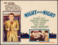 "Movie Posters:Drama, Night After Night (Paramount, 1932). Lobby Card (11"" X 14""). Drama.. ..."