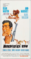 """Movie Posters:Action, Murderers' Row (Columbia, 1966). Three Sheet (41"""" X 79""""). Action....."""