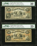 Canadian Currency: , Halifax, NS - The Bank of Nova Scotia $10 Jan. 2, 1935 Ch. #550-36-04, Two Examples.. ... (Total: 2 notes)