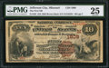 National Bank Notes:Missouri, Jefferson City, MO - $10 1882 Brown Back Fr. 484 The First NB Ch. #(M)1809. ...