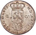 Netherlands East Indies, Netherlands East Indies: Dutch Colony. United East India Company 3Gulden 1786 MS62 NGC,...