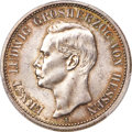 German States:Hesse-Darmstadt, German States: Hesse-Darmstadt. Ernst Ludwig 2 Mark 1895-A MS64 PCGS,...