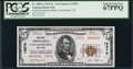National Bank Notes:New York, Canajoharie, NY - $5 1929 Ty. 2 National Spraker Bank Ch. # 13876. ...