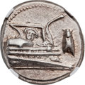 Ancients:Greek, Ancients: LYCIA. Phaselis. Ca. 4th century BC. AR stater (22mm,10.36 gm, 8h). NGC AU ★ 5/5 - 4/5....