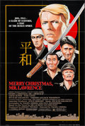 "Movie Posters:War, Merry Christmas, Mr. Lawrence (Universal, 1983). One Sheet (26.5"" X39.5""). War.. ..."