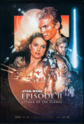 "Movie Posters:Science Fiction, Star Wars: Episode II - Attack of the Clones (20th Century Fox,2002). One Sheet (27"" X 40"") SS Style B. Science Fiction.. ..."