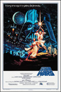 "Movie Posters:Science Fiction, Star Wars (Kilian Enterprises, R-1992). 15th Anniversary One Sheet(27"" X 41"") SS Style B. Science Fiction.. ..."