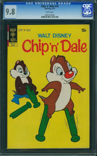 Chip 'n' Dale #14 (Gold Key, 1972) CGC NM/MT 9.8 White pages