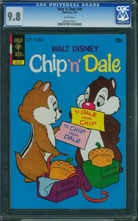 Chip 'n' Dale #19 (Gold Key, 1973) CGC NM/MT 9.8 White pages
