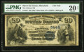 National Bank Notes:Maryland, Havre de Grace, MD - $20 1882 Value Back Fr. 581 The Citizens NBCh. # (E)5445. ...