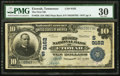 National Bank Notes:Tennessee, Etowah, TN - $10 1902 Plain Back Fr. 626 The First NB Ch. #(S)9162. ...