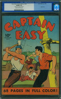 Golden Age (1938-1955):Adventure, Four Color (Series One) 24 Captain Easy (Dell, 1942) CGC VG/FN 5.0 Cream to off-white pages.