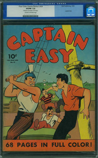 Four Color (Series One) 24 Captain Easy (Dell, 1942) CGC VG/FN 5.0 Cream to off-white pages