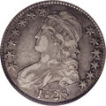 Bust Half Dollars: , 1828 50C Curl Base 2, Knob XF40 NGC. O-106, R.4. This variety andthe more common O-107 share similar obverses, but with so...