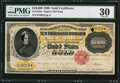 Large Size:Gold Certificates, Fr. 1225e $10,000 1900 Gold Certificate PMG Very Fine 30.. ...