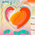 Fine Art - Painting, American:Contemporary   (1950 to present)  , Peter Max (American, b. 1937). Heart. Acrylic on canvas. 13x 13 inches (33.0 x 33.0 cm). Signed upper left: Max. ...