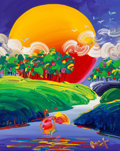 Fine Art - Painting, American:Contemporary   (1950 to present)  , Peter Max (American, b. 1937). Without Borders. Acrylic oncanvas. 30 x 24 inches (76.2 x 61.0 cm). Signed lower right: ...